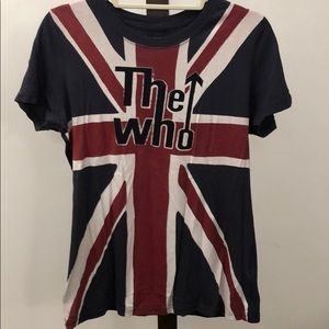 Lucky brand concert T-shirt. The who.